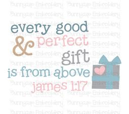 Every Good And Perfect Gift Is From Above SVG