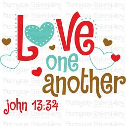 Love One Another SVG