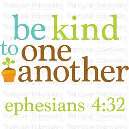 Be Kind To One Another SVG