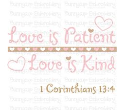Love Is Patient Love Is Kind SVG
