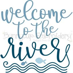 Welcome To The River SVG