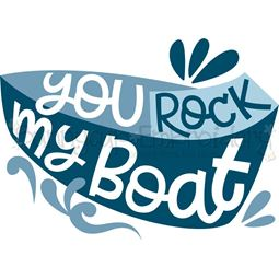 You Rock My Boat SVG
