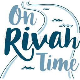 On Rivah Time SVG