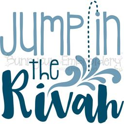 Jump In The Rivah SVG