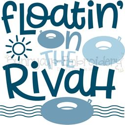 Floatin On The Rivah SVG
