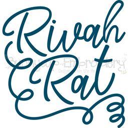 Rivah Rat SVG