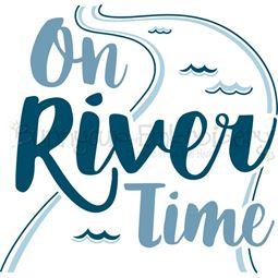 On River Time SVG