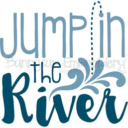 Jump In The River SVG