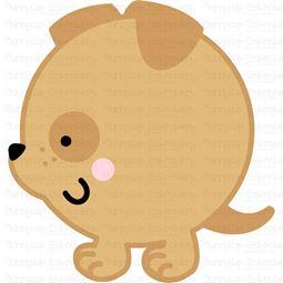 Round Dog SVG