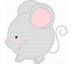 Round Mouse SVG