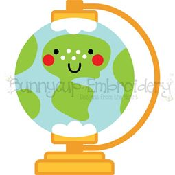 World Globe SVG