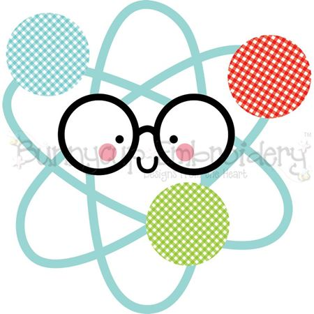Glasses Atom SVG