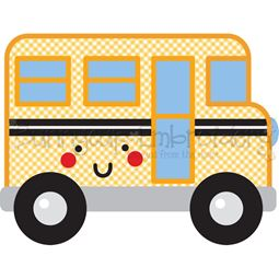 School Bus SVG