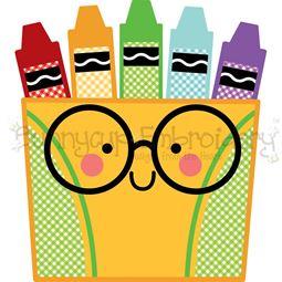 Box Of Crayons SVG