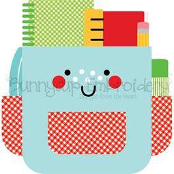 School Bag SVG