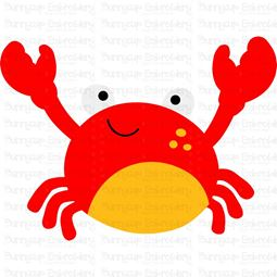Cute Crab SVG