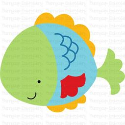 Cute Fish SVG