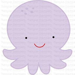 Cute Octopus SVG