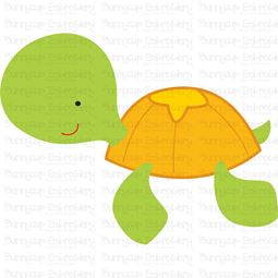 Cute Turtle SVG