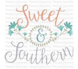 Sweet and Southern SVG