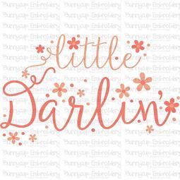 Little Darlin SVG