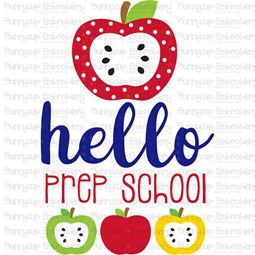 Hello Prep School SVG