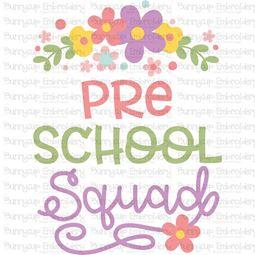 Preschool Squad SVG