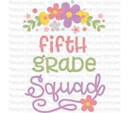 Fifth Grade Squad SVG