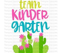 Team Kindergarten SVG