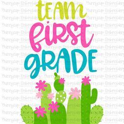 Team First Grade SVG