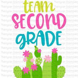 Team Second Grade SVG