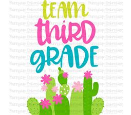 Team Third Grade SVG