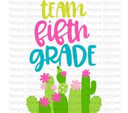 Team Fifth Grade SVG