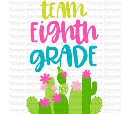 Team Eighth Grade SVG