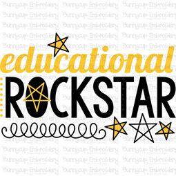 Educational Rockstar SVG