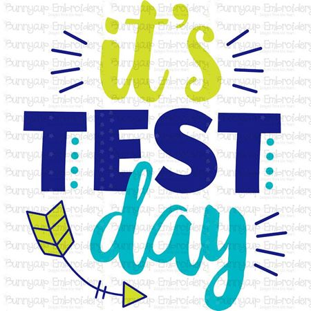 Its Test Day SVG