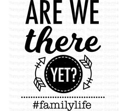 Are We There Yet Family Life SVG