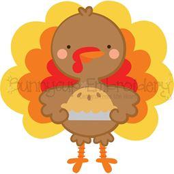 Pie and Boy Turkey SVG
