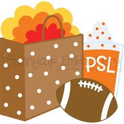 Thanksgiving Shopping SVG