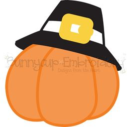 Pilgrim Pumpkin SVG