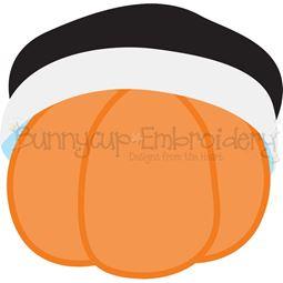 Slouchy Pilgrim Hat Pumpkin SVG