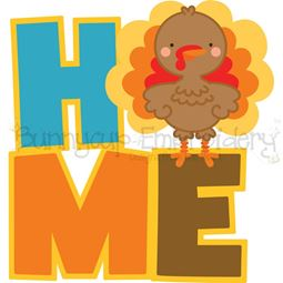 Home Turkey SVG