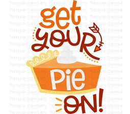 Get Your Pie On SVG