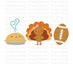 Thanksgiving Trio SVG