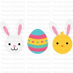 Easter Trio SVG