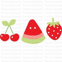 Fruit Trio SVG