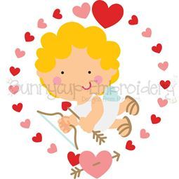 Cupid Laurel SVG
