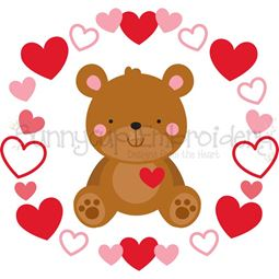 Teddy Bear Laurel SVG