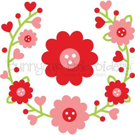 Flower Laurel SVG