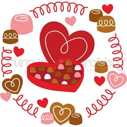 Box Of Chocolates Laurel SVG